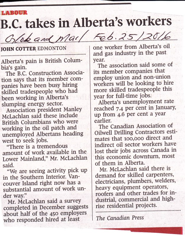 B.C. takes Alberta construction workers