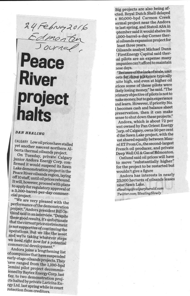 Peace Hills projects halted