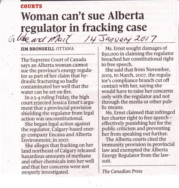 woman-cant-sue-alberta-regulator-in-fracking-case14-1-17-gm