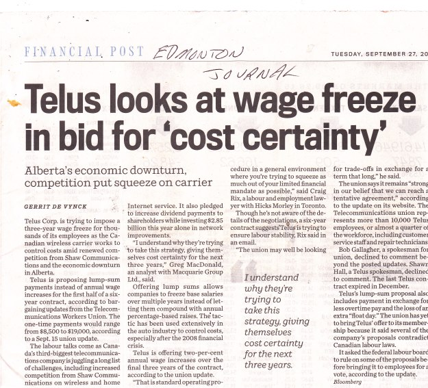 telus-looks-at-wage-freeze-in-bid-for-cost-certainty27-9-16-ej